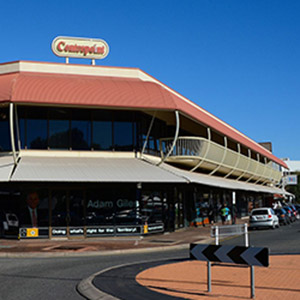 Centrepoint Building Alice Springs